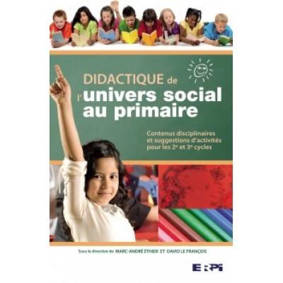Didactique de l'univers social au primaire