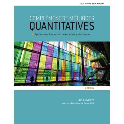 Complément de méthodes quantitatives