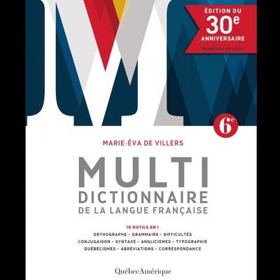 Multidictionnaire de la langue française 6e édition