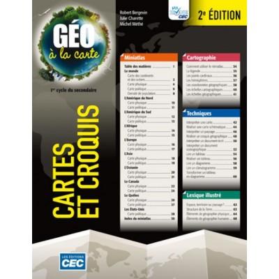 Géo à la carte : Cartes et croquis
